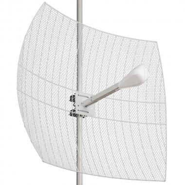 Параболическая антенна 2 x 27 дБ. 3G/WiFi/4G, MIMO