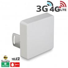 Антенна мультистандартная панельная 2G / 3G / 4G LTE, 15 дБ. (750-2900 МГц)