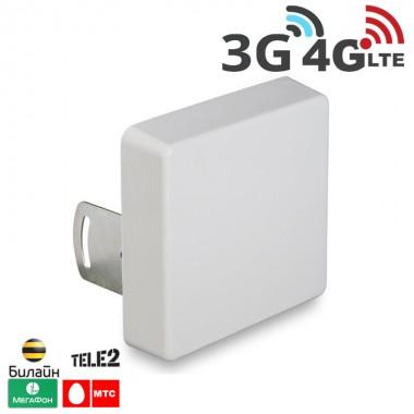 Антенна панельная мультистандартная 2G / 3G / 4G LTE, 9-15 дБ. (750-2900 МГц)