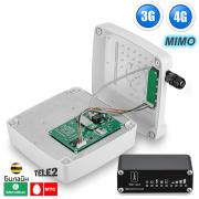 3G + 4G LTE интернет комплект для дачи / офиса - с поддержкой SIM-инжектора