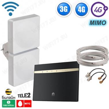 Готовый интернет комплект - ЭКСТРИМ 3G, 4G LTE для дома и дачи