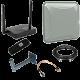 Готовые комплекты 3G, 4G (LTE) для подключения интернет на дачу, в частный дом, деревню.
