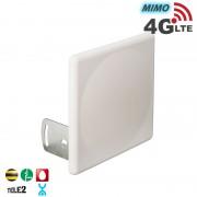 Антенна панельная 4G LTE, MIMO 16 дБ. (2600 МГц)
