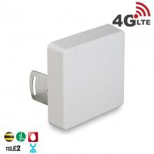 Антенна панельная 4G LTE, 9 дБ. (800 МГц)