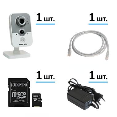 Комплект для дома на 1 Wi-Fi камеру с функцией архива