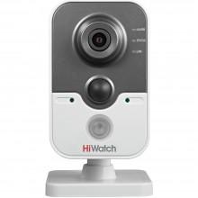 HiWatch DS-I114 2.8 мм. (4мм, 6мм опция) Бюджетная отдельностоящая IP-камера для дома и офиса