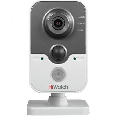 Бюджетная Wi-Fi IP-камера HiWatch DS-I114W (2.8 mm)  для дома и офиса